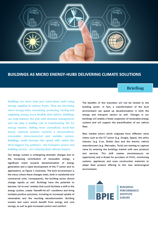full cover briefing on energy-hubs