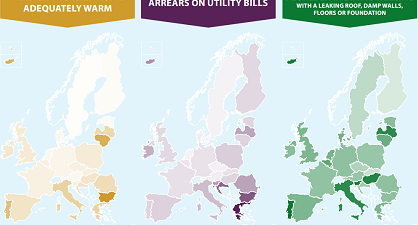 small Energy poverty indicator map