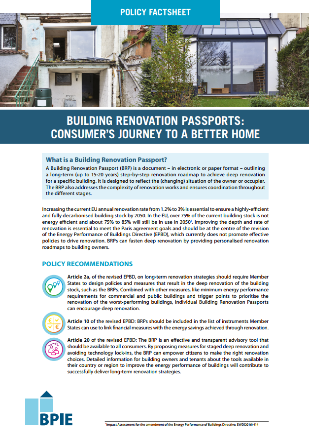 Building Renovation Passports: consumer's journey to a