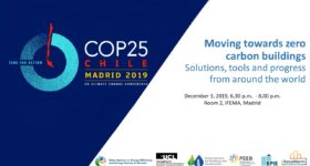 COP 25 side event general & panel slides